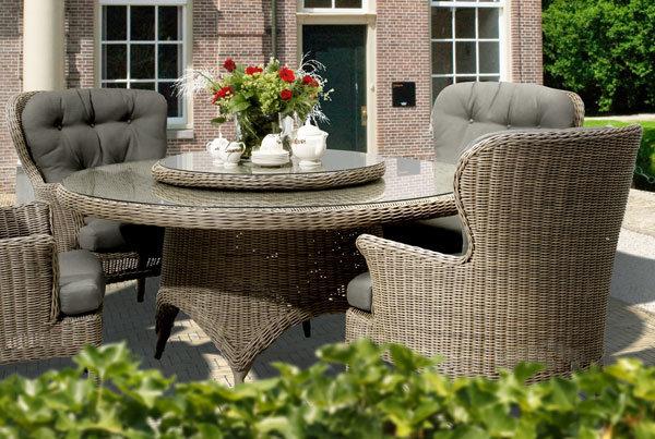 Buckingham Dining | Hularo® Polyrattan Sessel