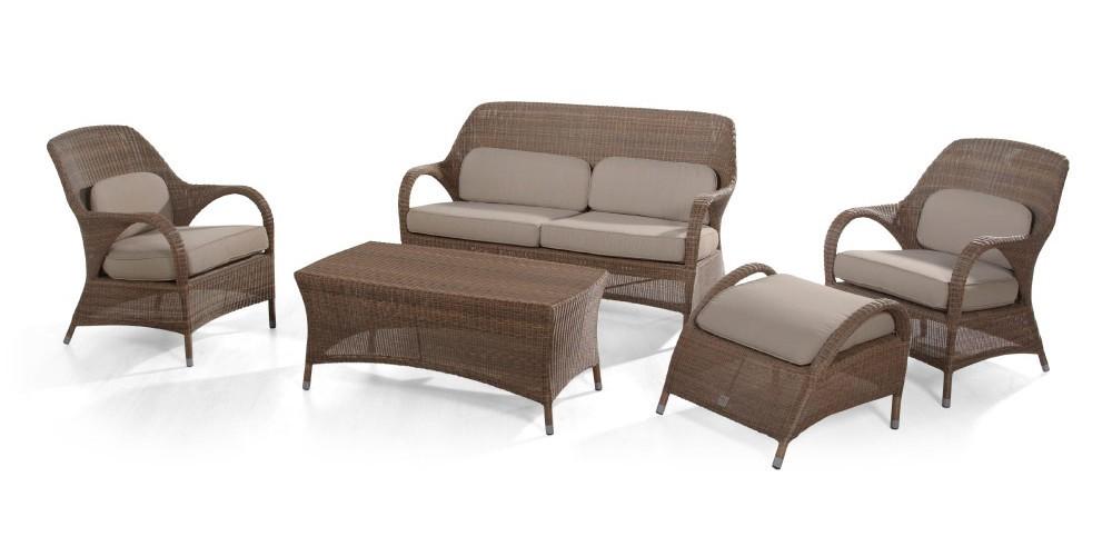 sussex living serie klassische polyrattan gartenm bel. Black Bedroom Furniture Sets. Home Design Ideas