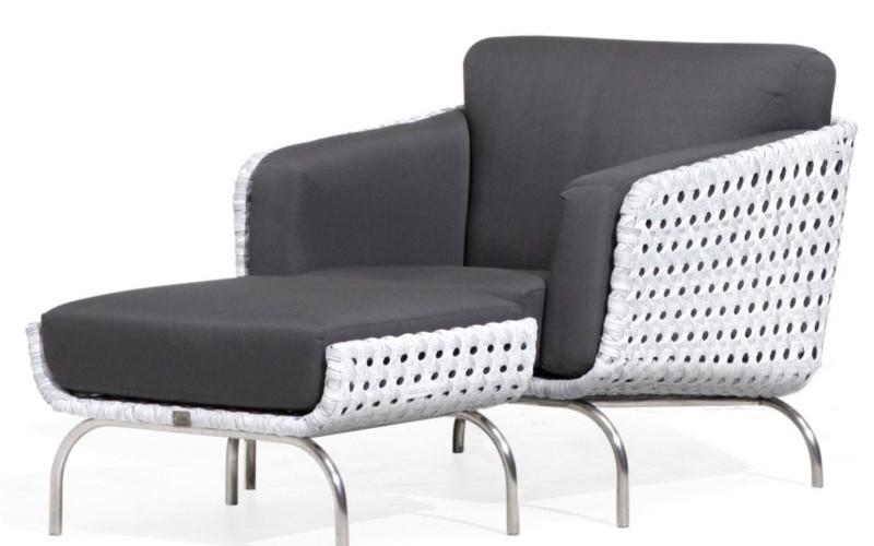 luton lounge moderner retrolook korbsessel hularogeflecht. Black Bedroom Furniture Sets. Home Design Ideas