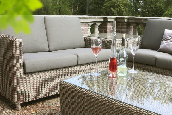 Lodge Modular Lounge Pure – Flechtgewebe
